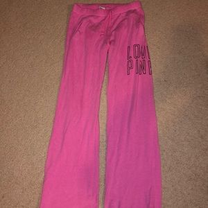 Victoria's Secret PINK Flare Sweats